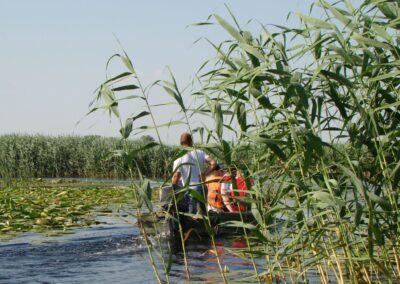 Excursia barca cu motor in delta